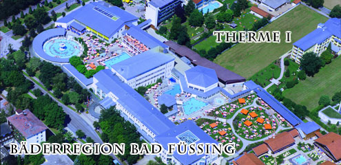 Therme I der Bäderregion Bad-Füssing