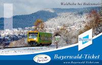 Zugverbindungen im Bayerischen Wald