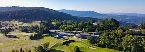 Deggendorfer Golfclub auf der Rusel in Schaufling Bayerischer Wald