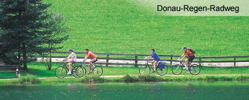 Radfahren im 3-Flüsse Stadt Passau
