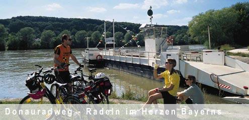 Donauradweg - Radfahren in Bayern