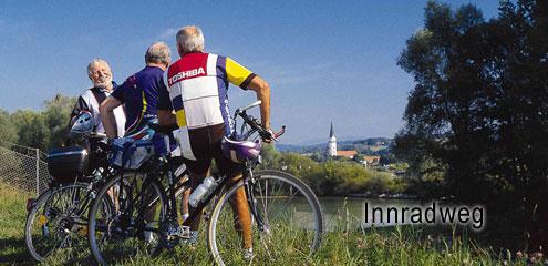 Radfahren am Inn Passau