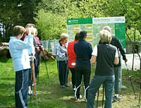 Informationen zum Nordic Walking Park in Freyung Bayer. Wald.