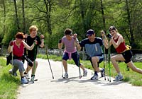Nordic-Walking  in Freyung im Nordic Walking Park Bayerischer Wald