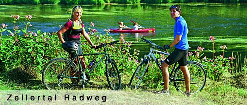 Radfahren im Zellertal im Bayr. Wald