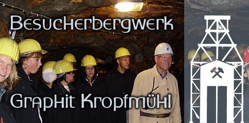 Besucherbergwerk Graphit Kropfmühl