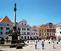 Stadt Krummau Tschechien