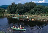 Camping Kanu Abenteuerurlaub Sumava Nationalpark