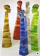 Glasskulpturen aus dem Bayr. Wald