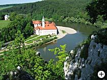 Donaudurchbruch Kloster Weltenburg Bayern