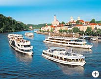 Dreiflüssestadt Passau Donauschiffahrt Bayerischer Wald