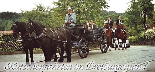 Kutschenfahrten im Bayerwald - Dreiburgenland