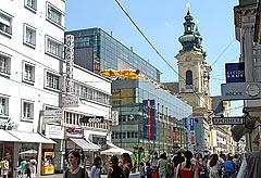 Landstraße Shopping Linz Donaustadt