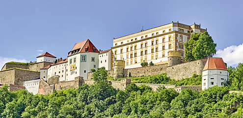 Passau - Feste Obernhaus