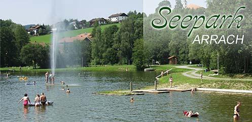 Seepark Arrach Lamer Winkel Bayr. Wald