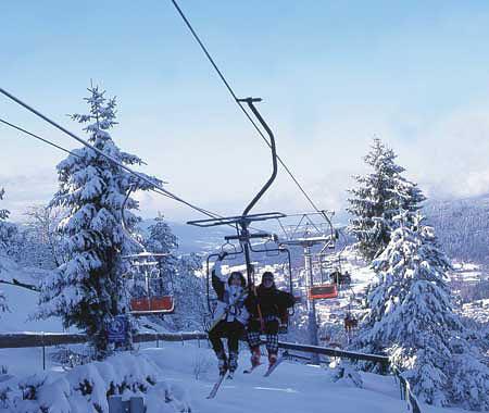 Wintersport Skigebiet Bodenmais