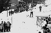 Skisprung in Breitenberg