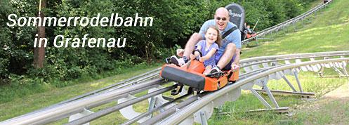 Sommerrodelbahn in Grafenau im Bayerischen Wald