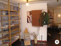 Produkte von Webereien im Bayerischen Wald