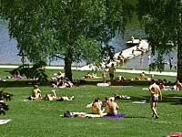 Eginger See - Badespaß für die ganze Familie