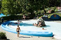 Baden mit der ganzen Familie im Bayerischen Wald