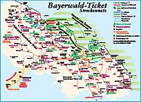 Bayerwald-Ticket Skizze