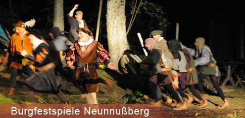 Burgfestspiel Neunußberg im Bayerwald
