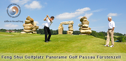 Golfen im Passauer Land - Feng Shui Golfplatz