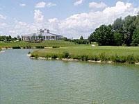 Clubhaus des Golfclubs Gäuboden in Straubing