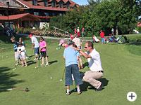 Jugendtraining des Golfclubs Passau Rassbach im Bayr. Wald