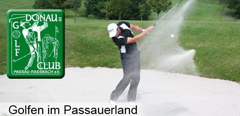 Golf im Passauer Land Ostbayern