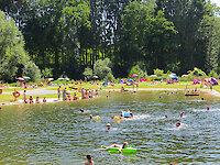 Badespaß im Gelände