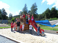 Spielplatz des Freizeitgelände Röhrnbach