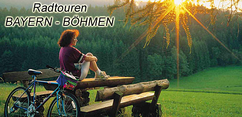 Radtouren Ostbayern - Böhmen