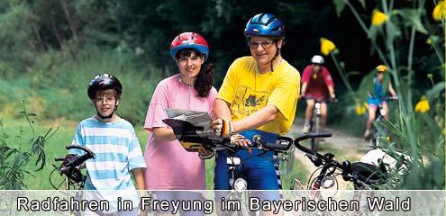 Radfahren im Bayr. Wald