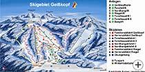 Skikarte Bayerischer Wald