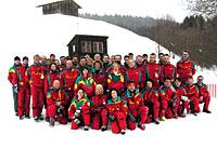 Skilehrer der GS Schneesportschule im Bayerischen Wald