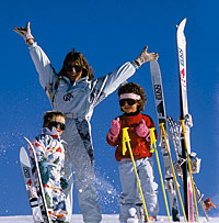Skifahren im Skigebiet Freyung