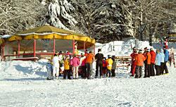 Skifahren Bayern