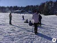 Skilift in Ostbayern
