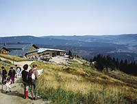 Großer Arber Skigebiet Sport Sommer Winter Bayerischer Wald Berg