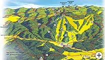 Wanderkarte Bayerwald