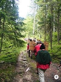 Wanderwege des Historischen Goldenen Steigs im Bayerwald