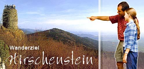 Wandern am Hirschenstein Bayrischer Wald