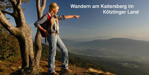 Wanderurlaub am Kaitersberg im Bayer. Wald