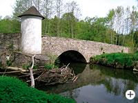 Steinerne Brücke in Röhrnbach im Bayerischen Wald