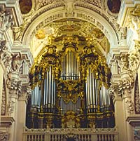 Größte Kirchenorgel der Welt im Passauer Dom